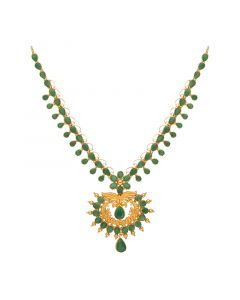 110MP3774 | 22kt Gold Emerald Necklace 110MP3774