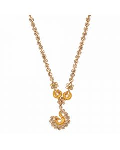 117VG382 | Vaibhav Jewelles 22K Polki Gold Necklace 117VG382