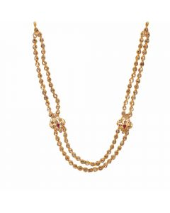 117VG478 | Vaibhav Jewelles 22K Polki Gold Necklace 117VG478