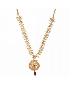 117VG509 | Vaibhav Jewelles 22K Polki Gold Necklace 117VG509