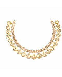 117VG515 | Vaibhav Jewelles 22K Polki Gold Necklace 117VG515