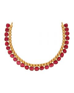 123VG4242 | Vaibhav Jewellers 22K Antique Gold Necklace 123VG4242