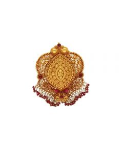 127G345 | Vaibhav Jewellers 22K Antique Gold Pendants 127G345