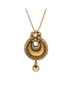 127VG3959 | Vaibhav Jewellers Antique Gold Pendant 127VG3959