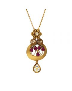 127VG3966 | Vaibhav Jewellers Antique Gold Pendant 127VG3966