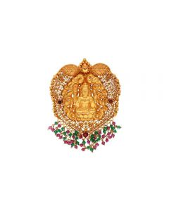 127VG4025 | Vaibhav Jewellers 22K Antique Gold Pendants 127VG4025