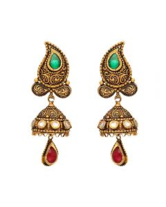 135G1555 | 22k Antique Hanging Earrings 135G1555