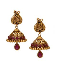 135VG3824 | 22k Antique Earrings  135VG3824