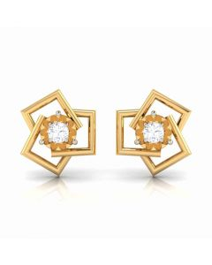 155DH2930 | Vaibhav Jewellers 18K  Diamond Stud Earrings 155DH2930