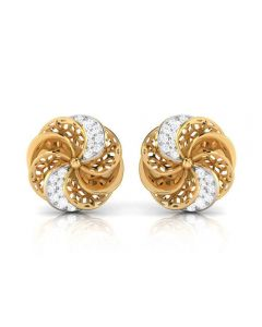 155DH2934 | Vaibhav Jewellers 18K Diamond Stud Earrings 155DH2934