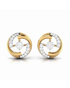 155DH2943 | Vaibhav Jewellers 18K  Diamond Stud Earrings 155DH2943
