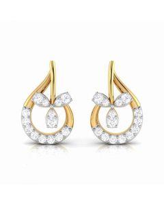 155DH2945 | Vaibhav Jewellers 18K  Diamond Stud Earrings 155DH2945