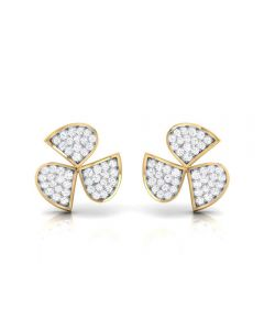 155DH2949 | Vaibhav Jewellers 18K  Diamond Stud Earrings 155DH2949