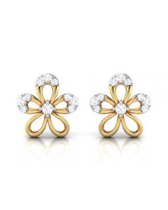 155DH2951 | Vaibhav Jewellers 18K  Diamond Stud Earrings 155DH2951