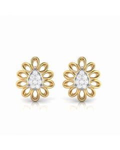 155DH2952 | Vaibhav Jewellers 18K  Diamond Stud Earrings 155DH2952