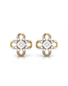 155DH2953 | Vaibhav Jewellers 18K  Diamond Stud Earrings 155DH2953