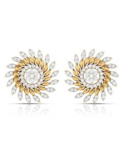 155DH2991 | Vaibhav Jewellers 18k Diamond Fancy Stud Earrings 155DH2991
