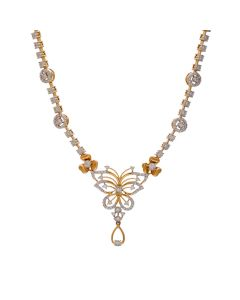 159VG2384 | Mesmerizing Fluttery Necklace.