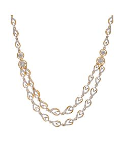159VG2423 | Double Glory Diamond Necklace