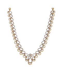 159VG2428 | Dew-BeadsUnision Diamond Necklace