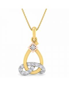 166DG5148 | Vaibhav Jewellers 18K Diamond Fancy Single Hook Pendant 166DG5148