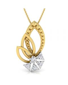 166DG5150 | Vaibhav Jewellers 18K Diamond Fancy Single Hook Pendant 166DG5150