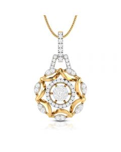 166DG5181 | Vaibhav Jewellers 18k Diamond Fancy Pendant 166DG5181