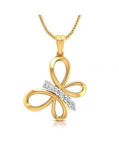 166DG5215 | Vaibhav Jewellers Ladies Fancy Diamond Pendant 166DG5215