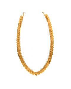 19VI1259 | 22K Plain Gold Chain Model Kasulaperu 19VI1259