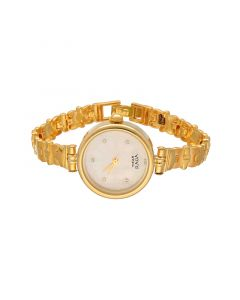 226VG2402 | 22K Casting Gold Ladies Titan Raga Watch 226VG2402