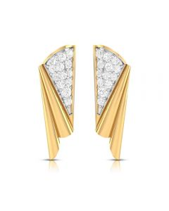 VJ-34DER | 18K Diamond Fancy Drop Earrings VJ-34DER