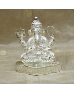 353VB3799 | Vaibhav Jewellers Silver Lord Ganesh Idol 353VB3799