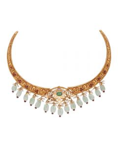 451VG1488 | Vaibhav Jewellers 22K Pachi Necklace 451VG1488
