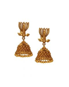 559VA229 | 22K Antique Gold Temple Hangings559VA229