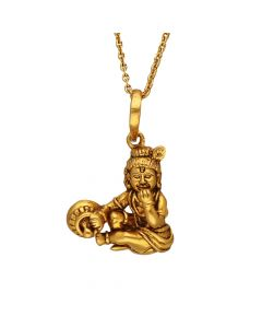 561VA180 | Antique Gold Little Krishna Pendant 561VA180