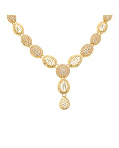 5VG5605 | 22 KT Signity Gold Necklace 5VG5605