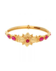 71VA6864 | 22KT Plain gold ladies bracelet 71VA6864