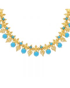 9VI5896 | 22K Plain Gold Necklace 9VI5896