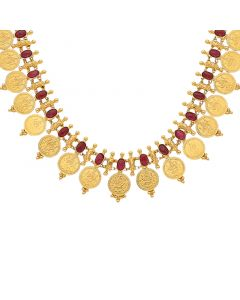 9VI5954 | 22K Plain Gold Necklace 9VI5954
