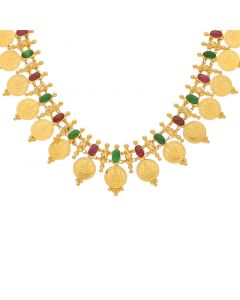 9VI5955 | 22K Plain Gold Necklace 9VI5955