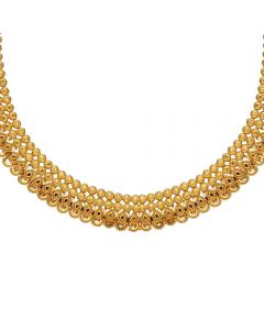 9VI9976 | Vaibhav Jewellers 22K Plain Gold U shape Necklace9VI9976