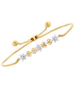 JBF05930Q | Floral Dream Diamond Bracelet