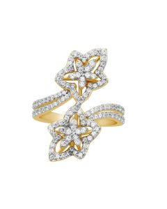 JRF081108 | Celestial Curve Diamond Band