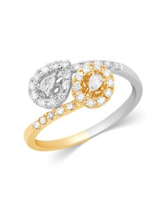 JRF28000T | Two Tone Diamond Sparkler