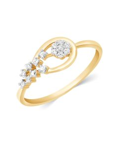 JRN11850A | Trellis Blossom Diamond Ring