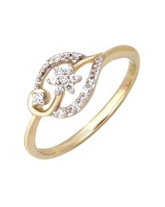 JRN11970A | Spring Blossom Diamond Ring