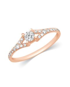 JRW73740T | Chevron Diamond Ring