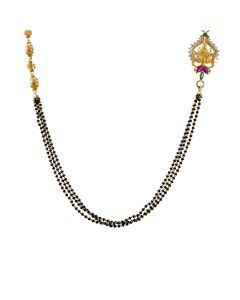SJ1017 | 22K Fancy Gold Mangalsutra SJ1017