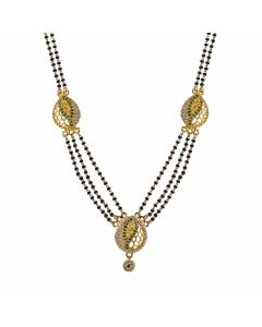 SJ1020 | 22K Traditional Gold Mangalsutra  SJ1020