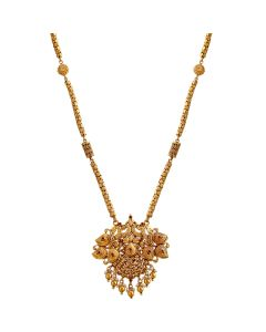 201VA1142 | Elegant Peacock Gold Necklace